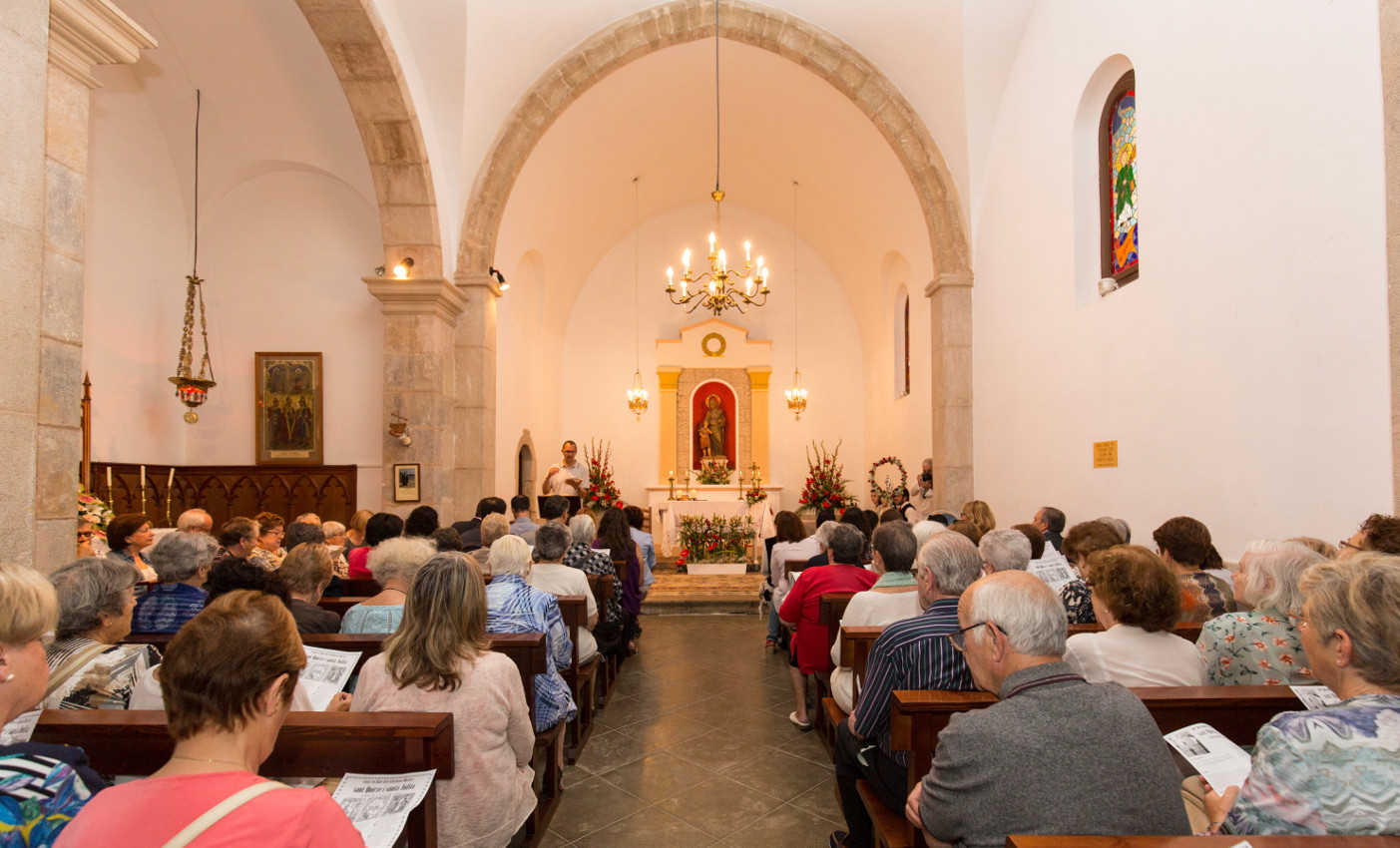 Nau de la capella de Sant Quirze i Santa Julita