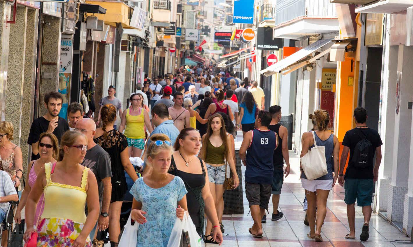 Centre comercial de Calella