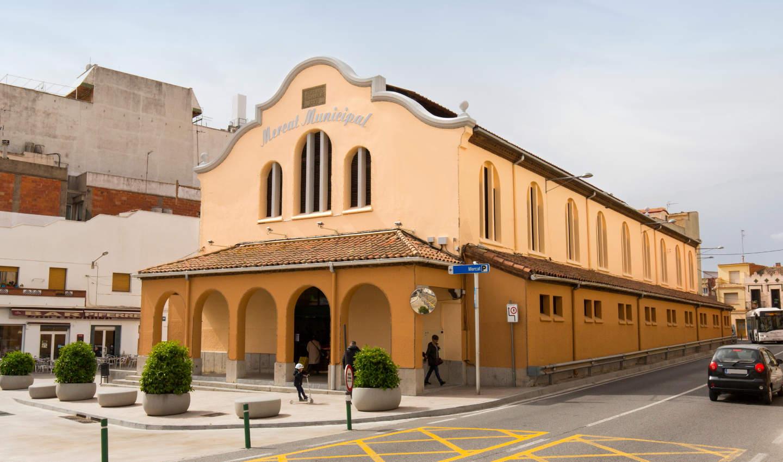 Edifici noucentista del Mercat Municipal de Calella