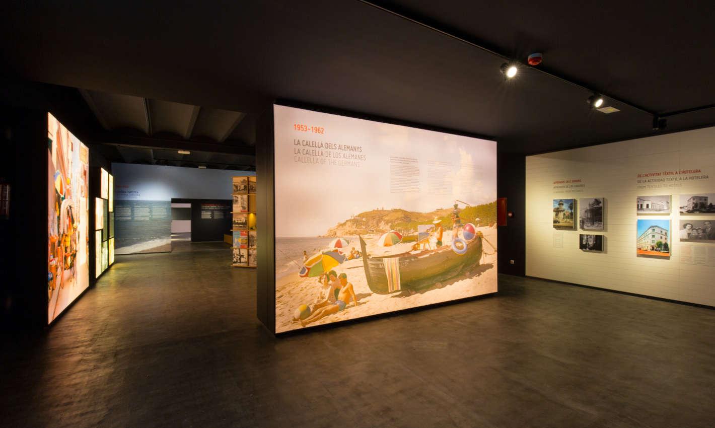 Sala de Calella al Museu del Turisme