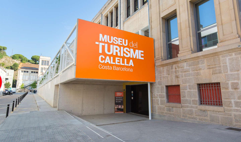 Entrada al Museu del Turisme de Calella