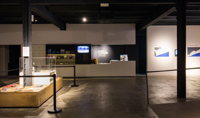 Recepció Museu del Turisme Calella