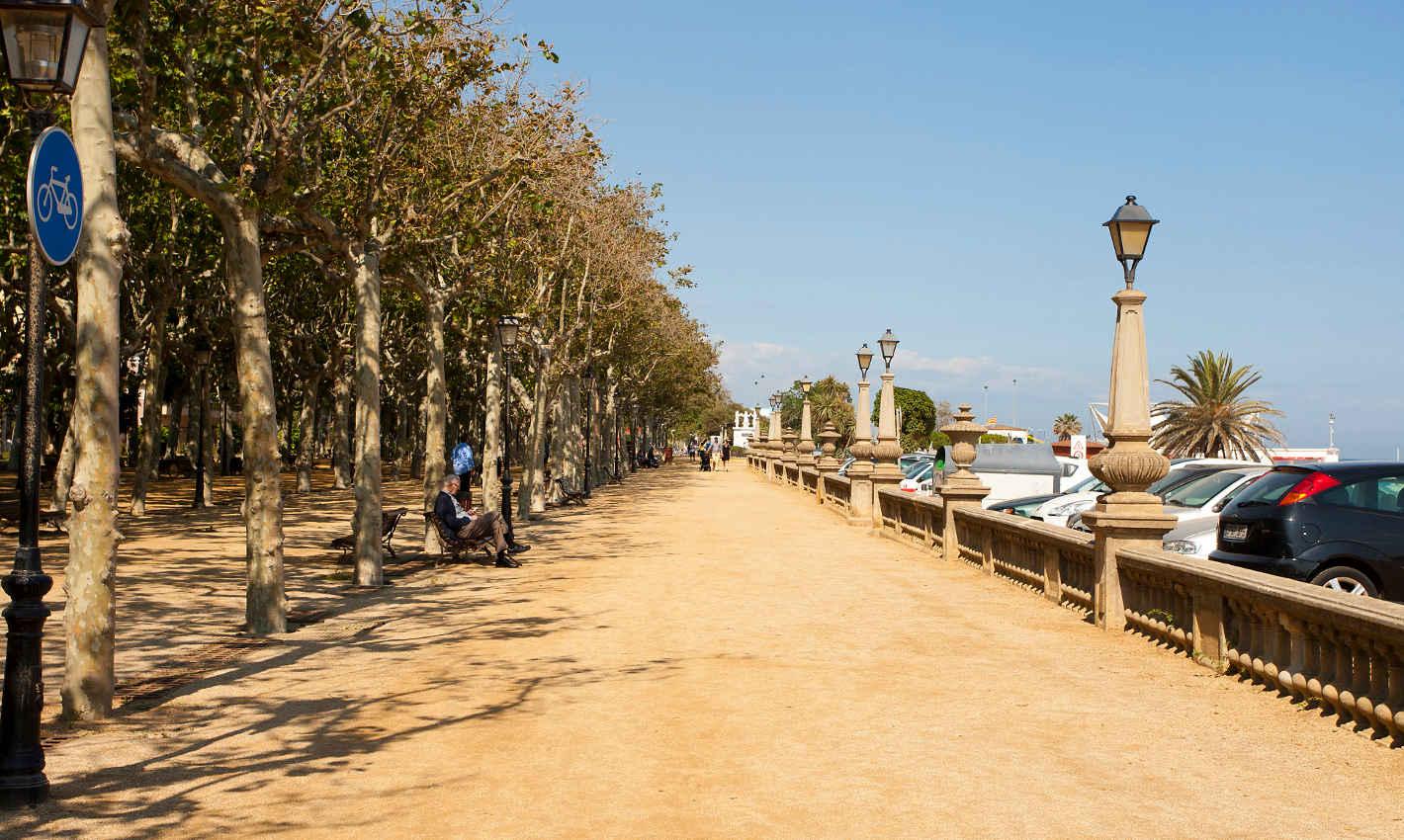 Passeig de mar de Calella