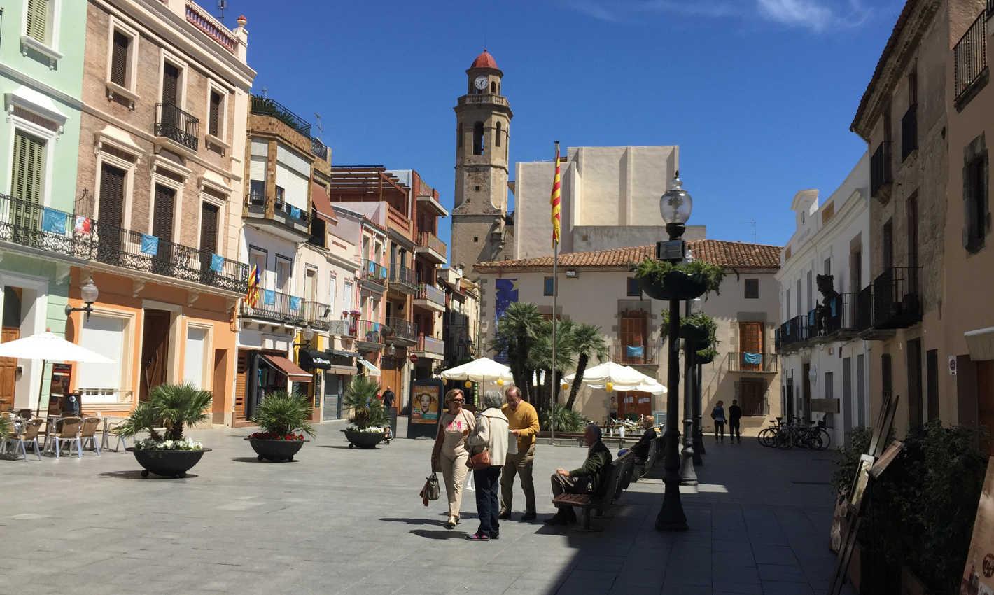 Plaça de l'Ajuntament de Calella