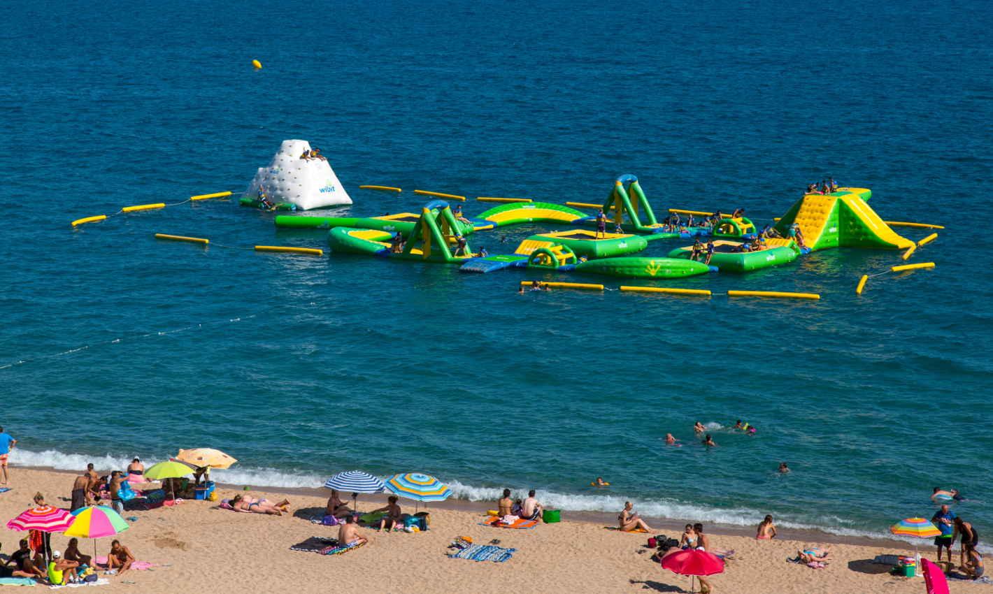 Maraventura Sports Park a la platja de Calella
