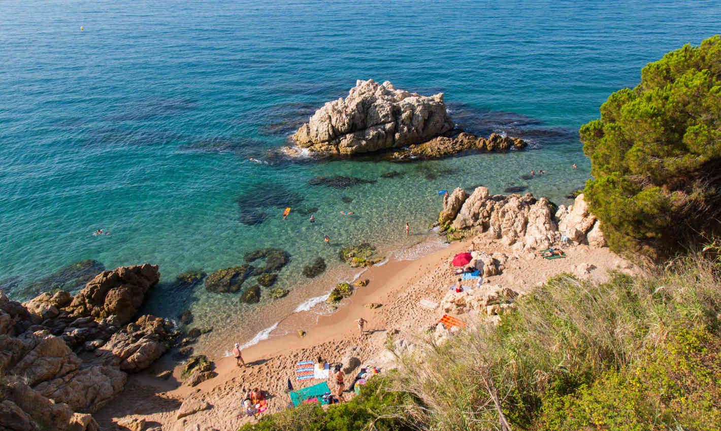 Platja Roca Grossa a Calella