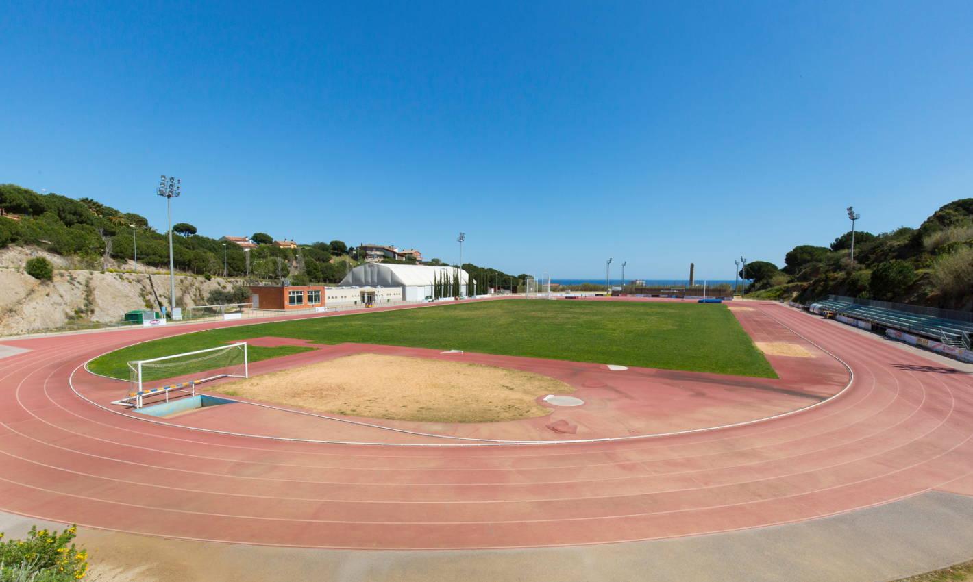 Zona esportiva La Muntanyeta de Calella