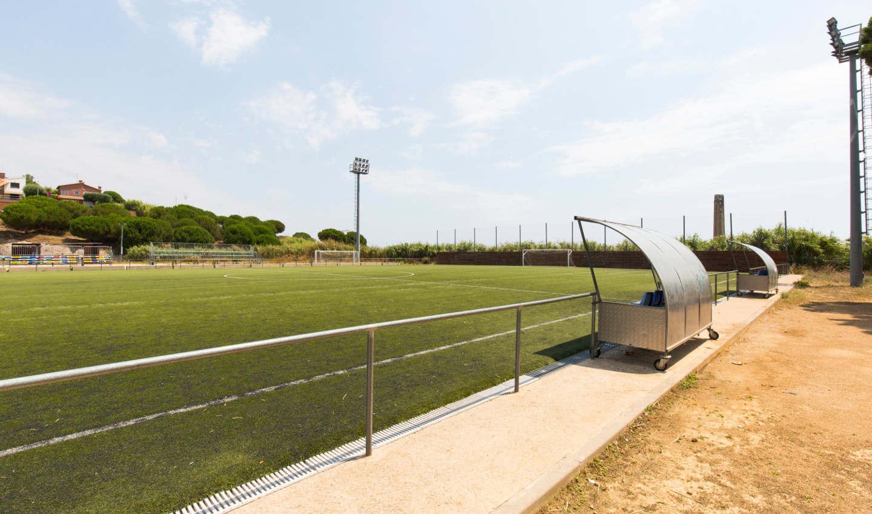 Camp de Futbol La Muntanyeta Calella