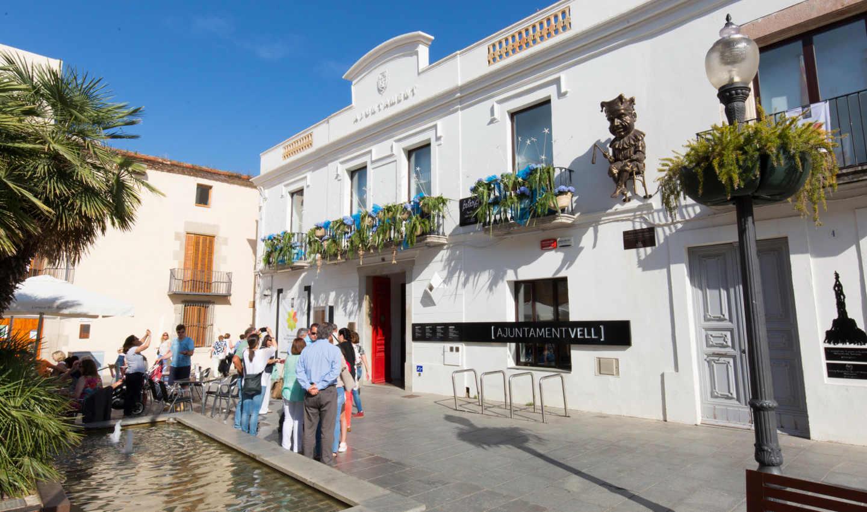 Ajuntament Vell al centre de Calella
