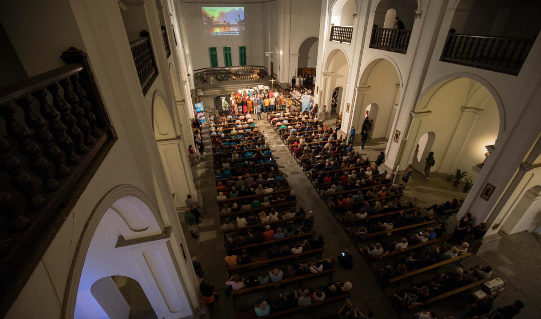 Cant coral a l'Església de Santa Maria i Sant Nicolau