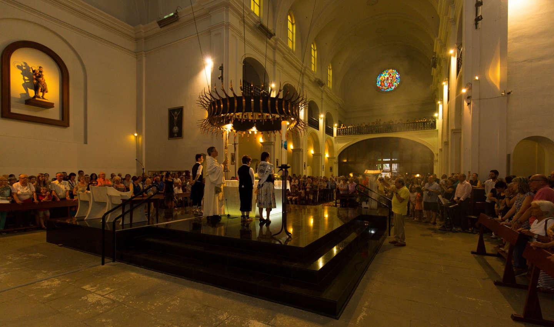 Corpus Christi a l'Església Parroquial de Calella