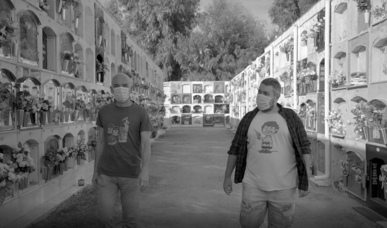 Joaquim Vivas i Santiago Alvarado a Calella #ciutatplató